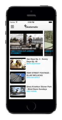 Skatematic for iPhone